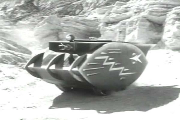 Moon Man Tank  Radar Men from the Moon, Movie, 1952