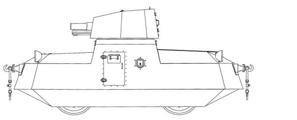 Д-37 с 76 мм орудием март 1933 г.