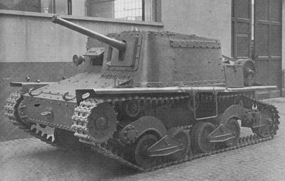 САУ Semovente L.40 da 47-32 с 47 мм пушкой.