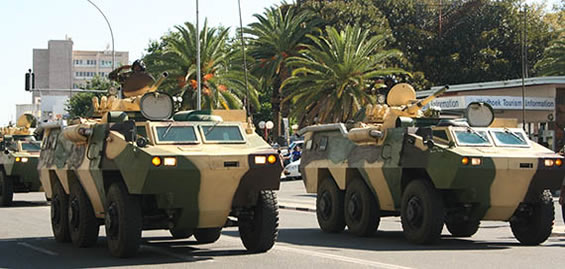 WZ 523 с башней БМП-1. Намибия.jpg