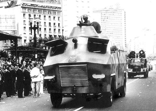 Броневик военной полиции Сан-Паоло 1964 фирма Грасси