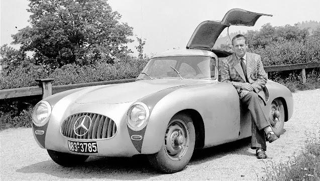 Mercedes 300 SL W194 - Rudolf Uhlenhaut - c 1953.jpg