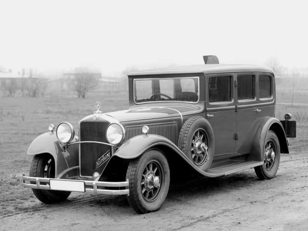 Mercedes-Benz Nürburg 460 K Pullman Armored 1931