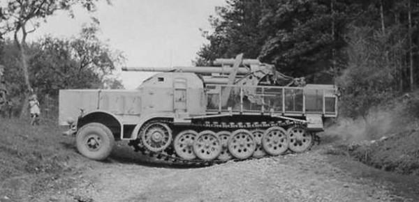SdKfz 9 с 88 мм