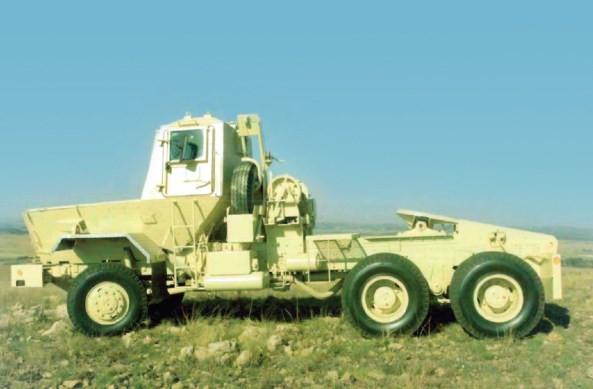 SAMIL-100 Kwêvoël Mk II A тягач для автопоезда