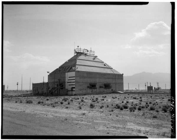 White Sands Missile Range, V-2 Rocket Facilities Army Block House, Launch Complex 33
