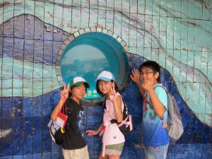 Hakkejima Sea Paradise 2012 Summer School Trip 064