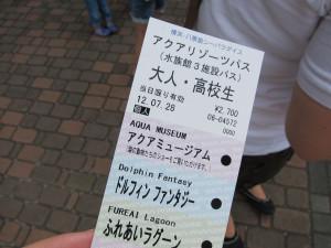 Hakkejima Sea Paradise 2012 Summer School Trip 071
