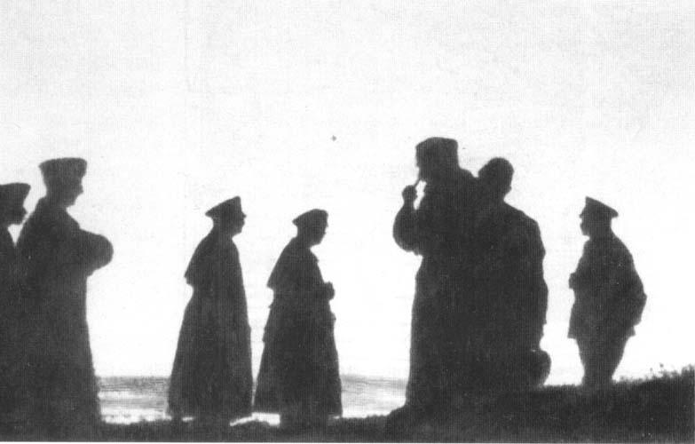 Немецкие главнокомандующие за 15 минут до начала вторжения Вермахта в СССР. 22 июня, 1941 года, 03.45 АМ.