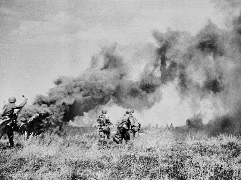 Бои под Минском. Прорыв из окружения. Июнь 1941 г.