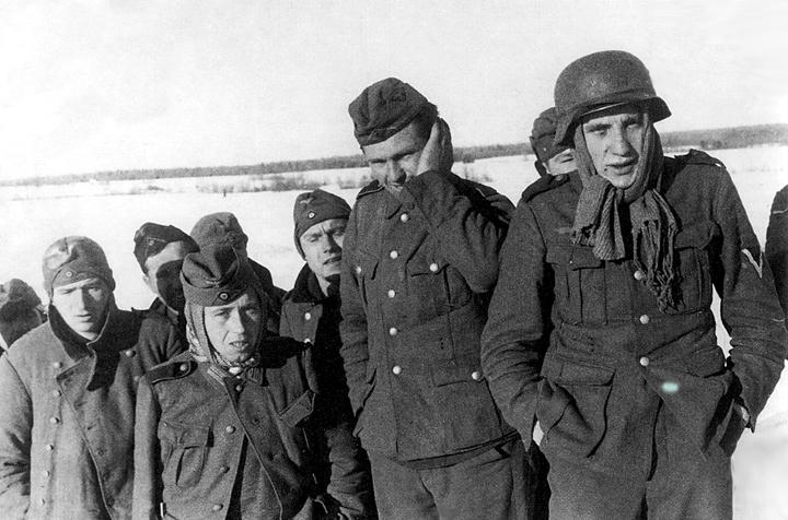 Пленные декабрь 1941