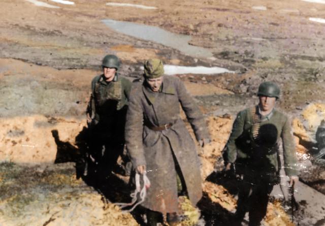 отчет начальника разведотдела за Апрель 1942