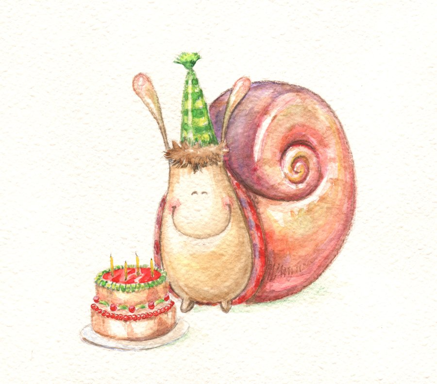 my_birthday_snail_by_stelle-d2xjlsj