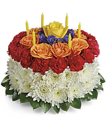 YourWishIsGrantedBirthdayCakeBouquet