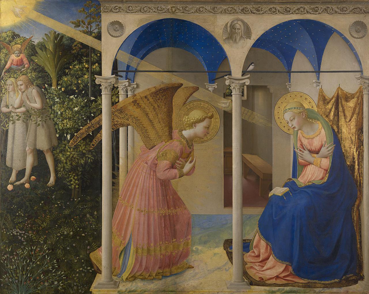 1430—1432 Благовещение. Фра Беато Анжелико