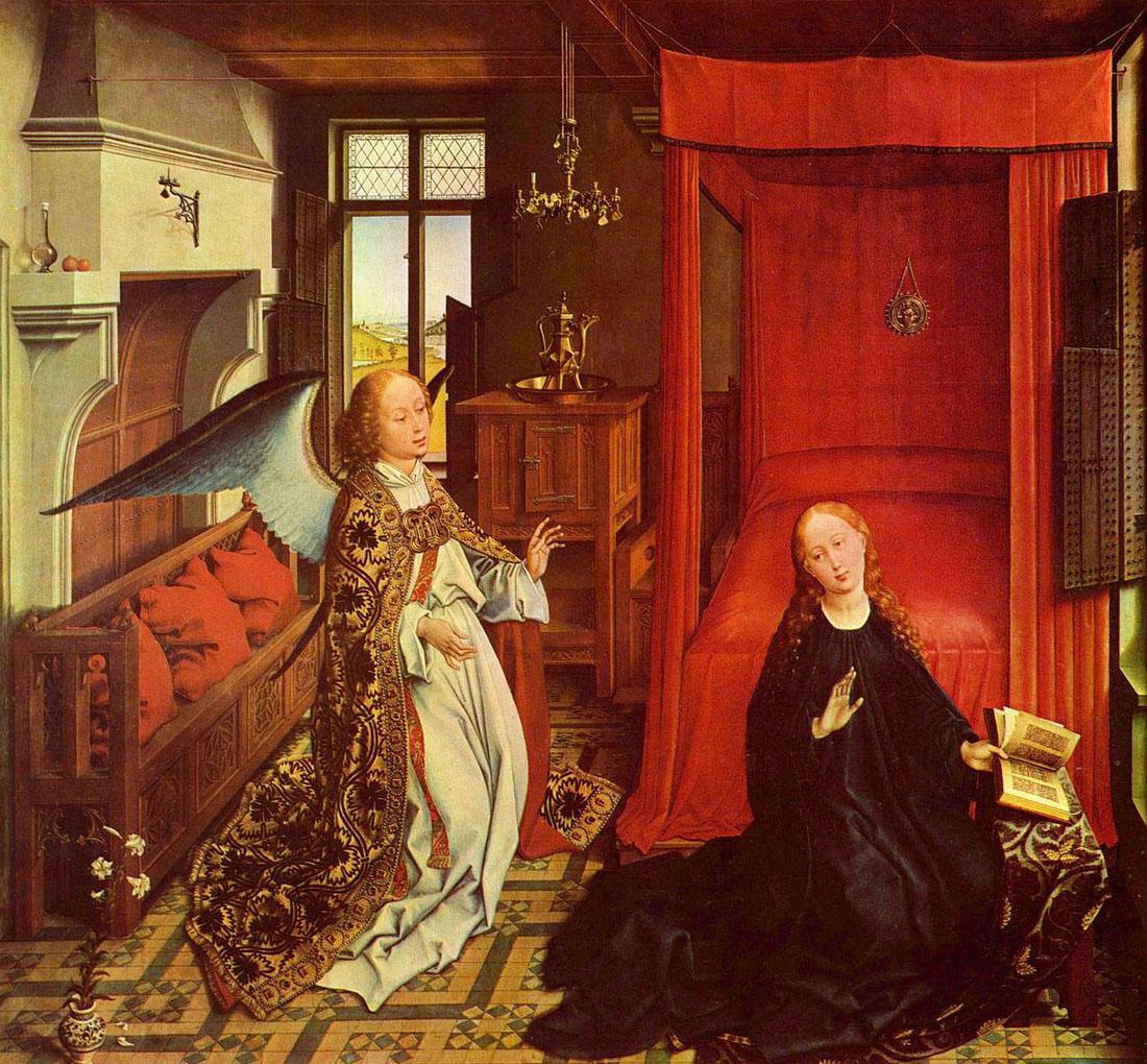 1440 Картина Рогира ван дер Вейдена