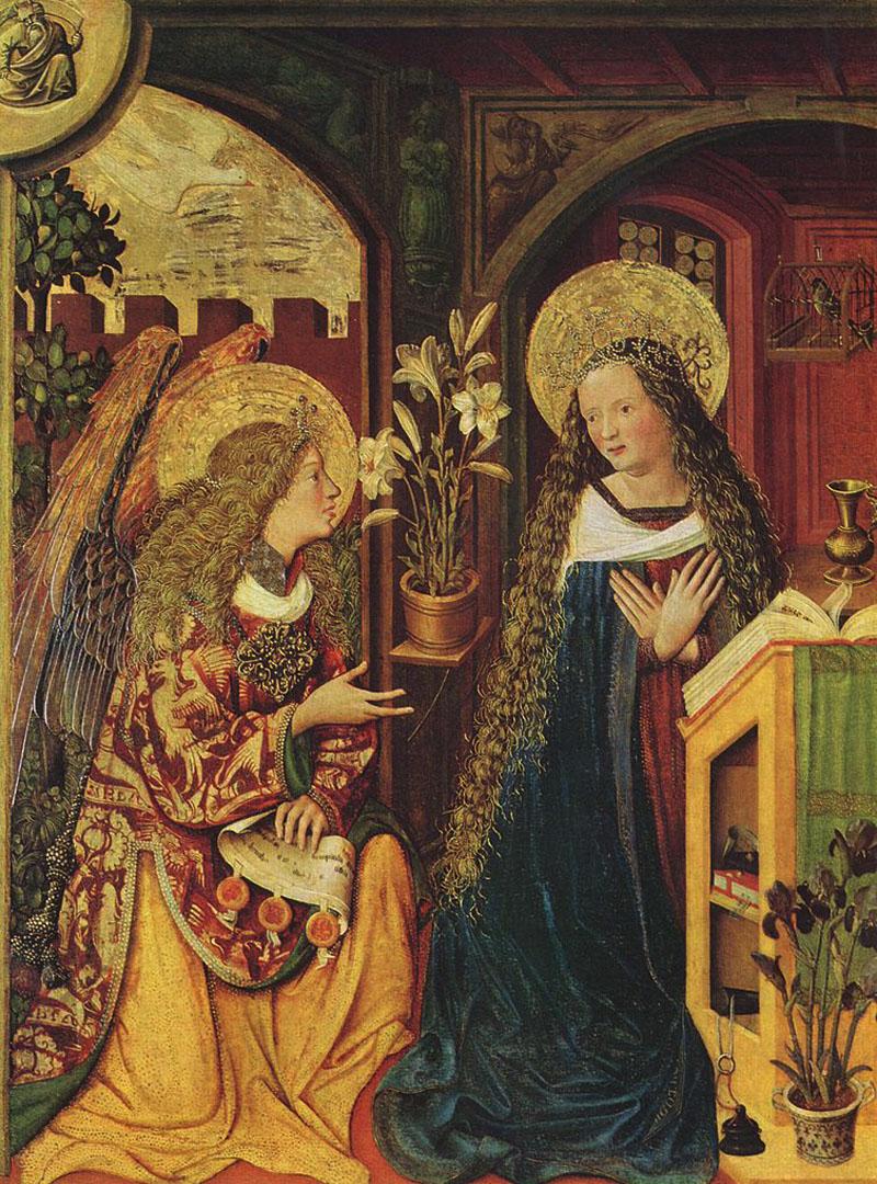 1500-1510 Картина Баварского мастера
