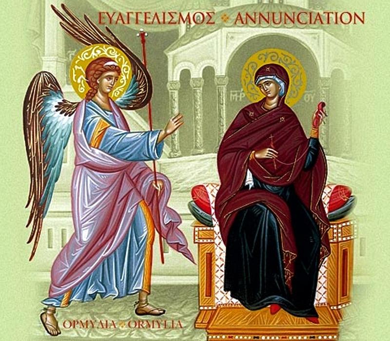 1990-е. Греческая открытка. Следует православным канонам