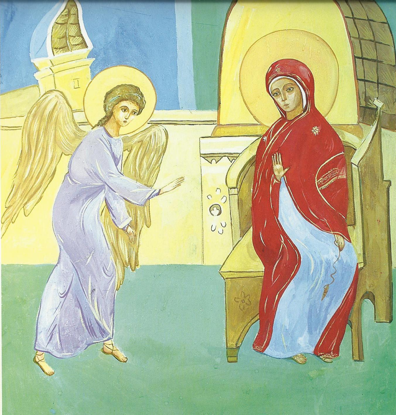 2010-е. Наивное искусство, но по мотивам фрески Дионисия