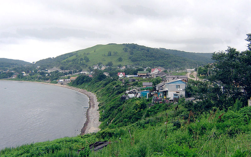 Хасанский район. Село Безверхово