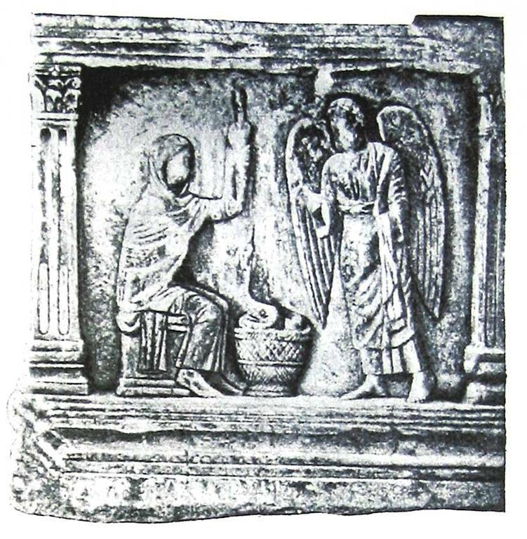410-430 Рельеф боковой стороны саркофага Браччофорте. Равенна