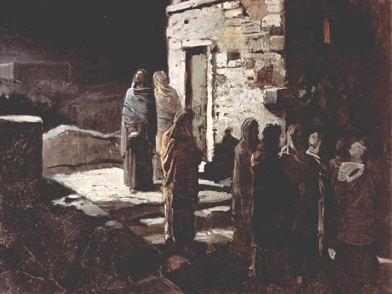 Николай Ге. Христос в Гефсиманском саду. 1888