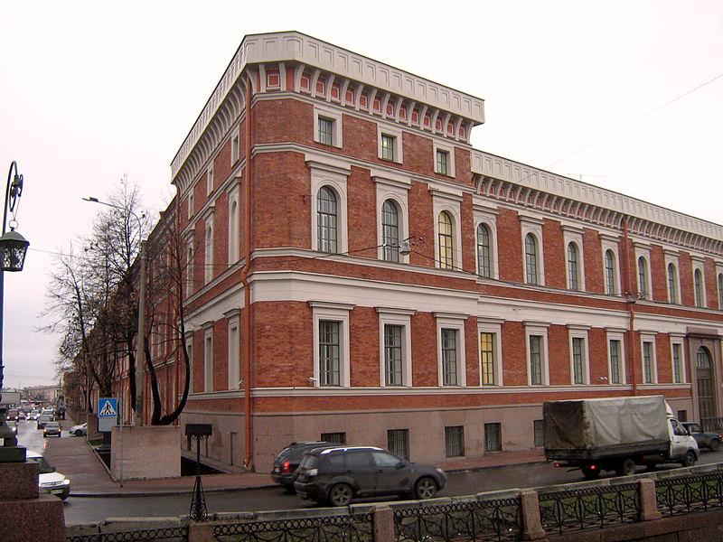 Новое здание Центрального военно-морского музея