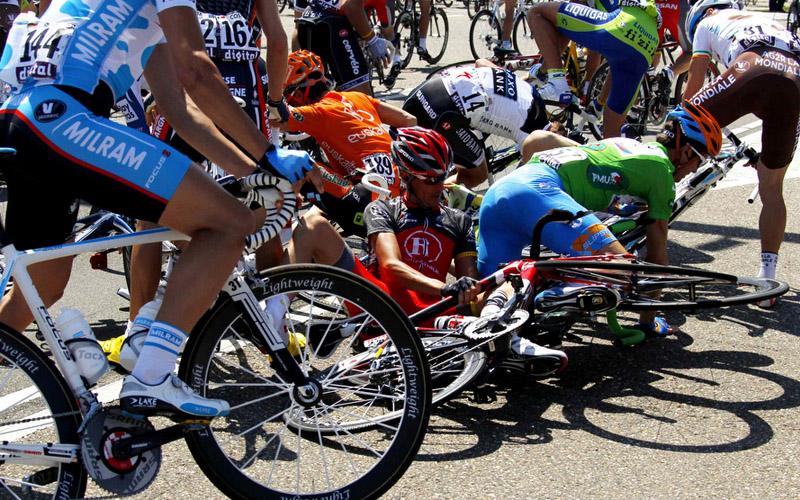 Завал на Тур де Франс