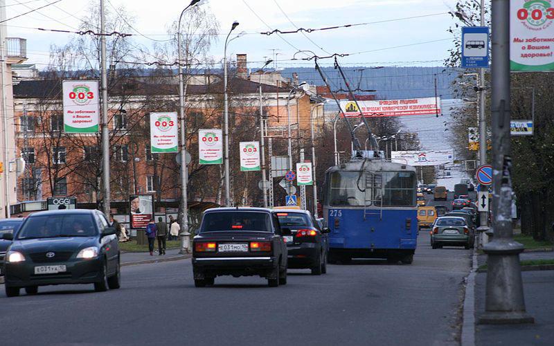 Улица Ленина в Петрозаводске. Город как город