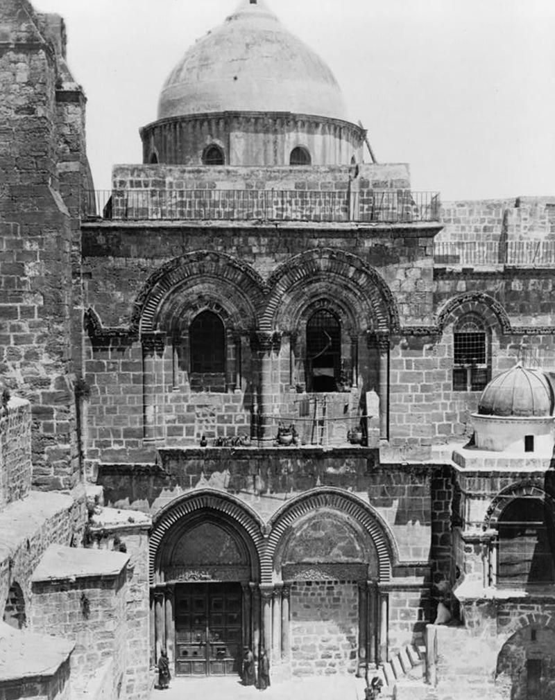 Храм Гроба Господня в 1880-е