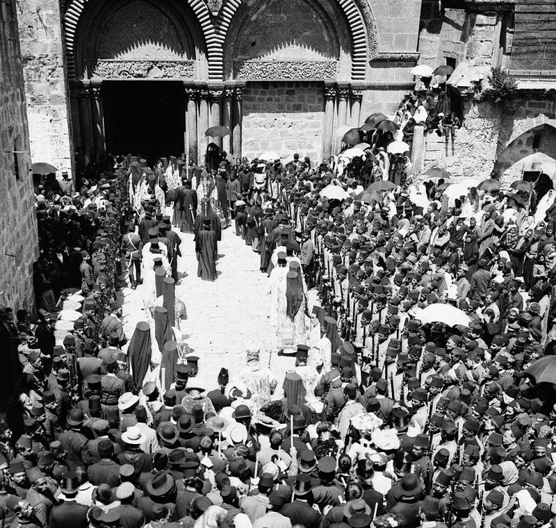 Пасхальная процессия