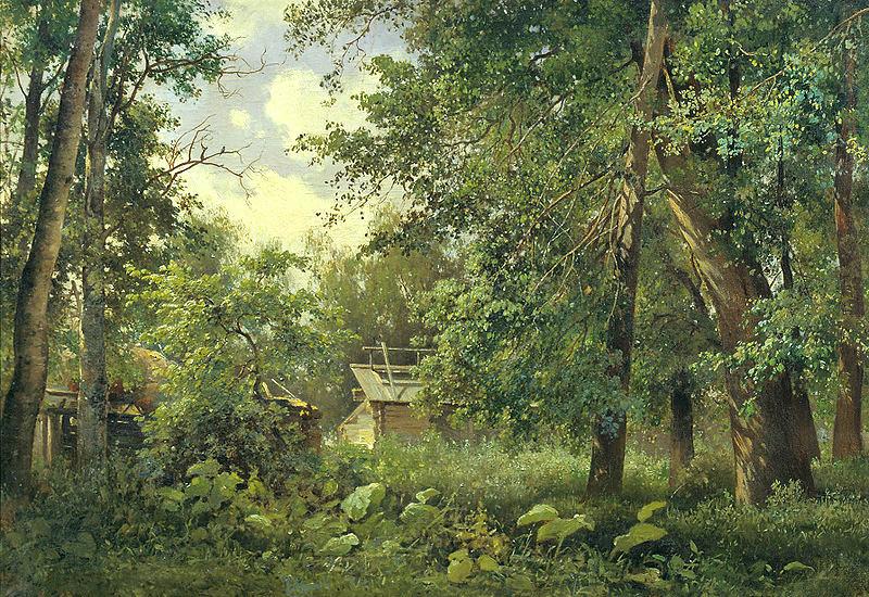 Владимир Аммон. Летний пейзаж.