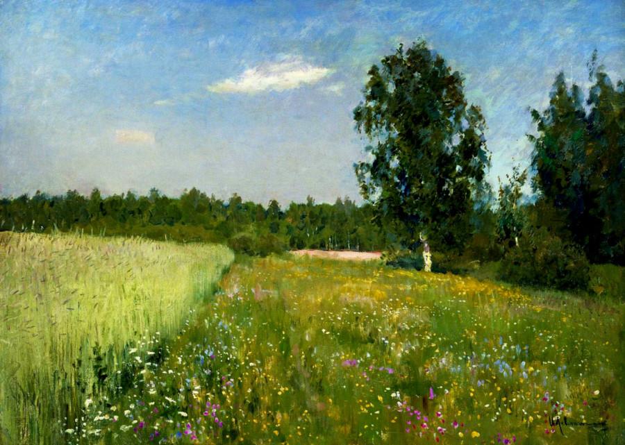 Isaak Levitan. Summer