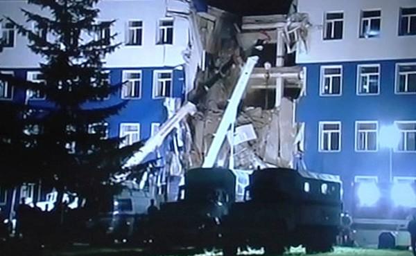 Разрушенная казарма под Омском