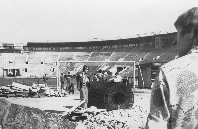 Реконструкция стадиона в Лужниках