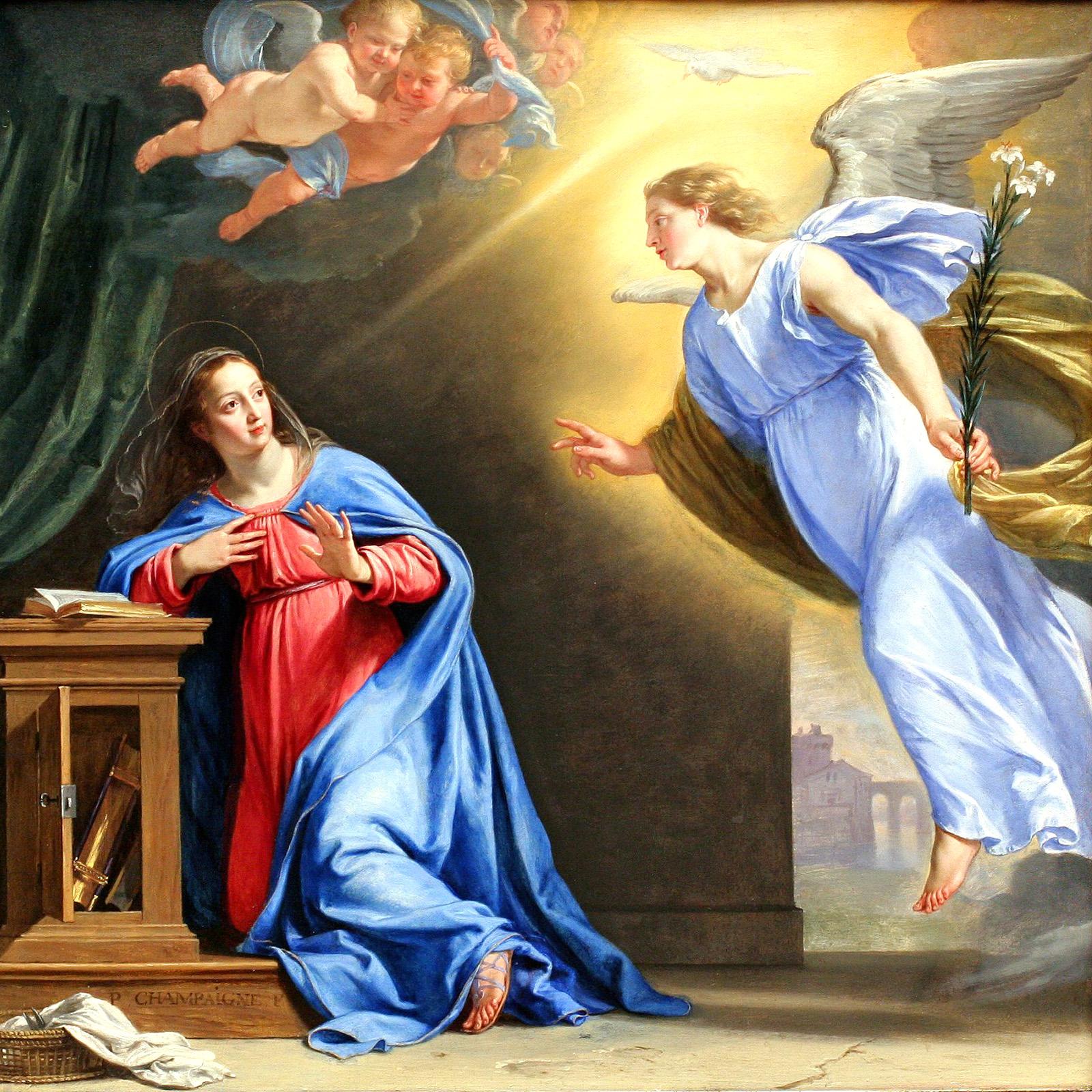Благовещение. Филипп де Шампань, 1644
