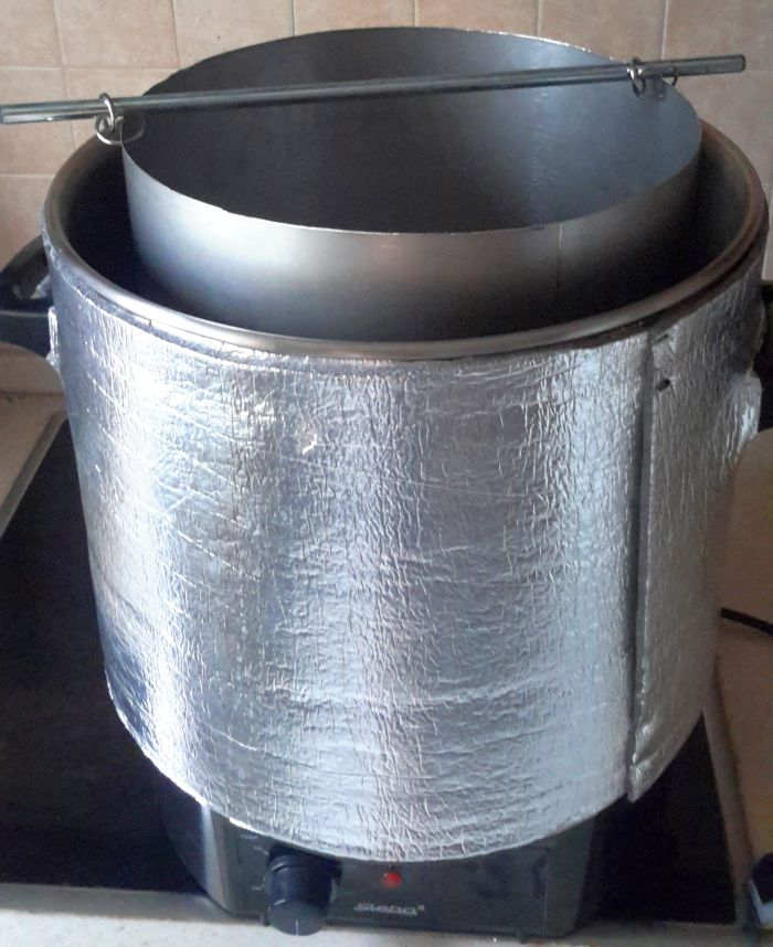 Корзина для солода из дымохода дымоходы вулкан сталь