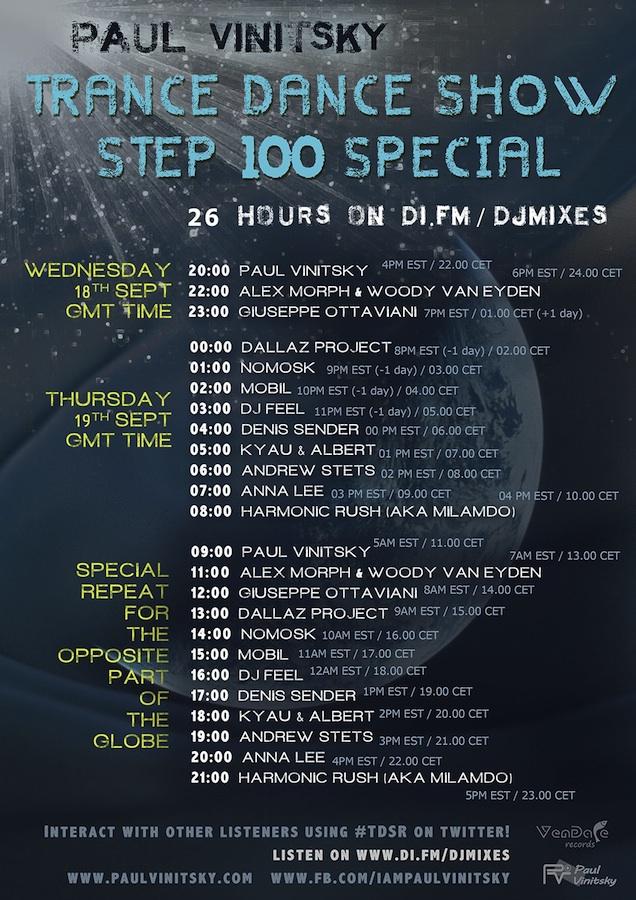 Trance Dance Show 100