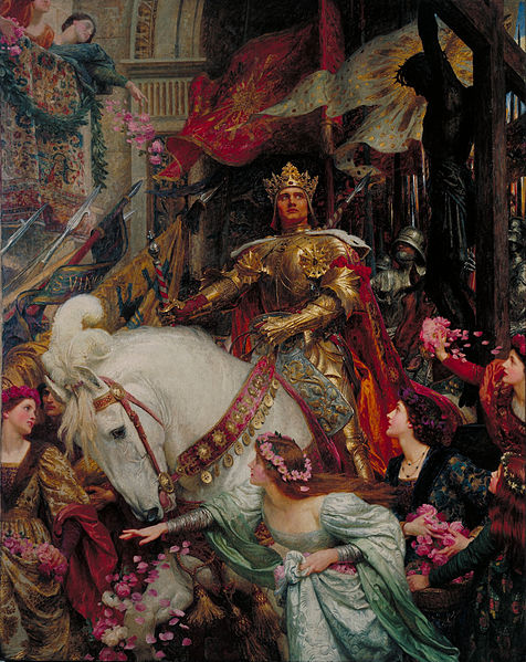 Sir Frank Dicksee - The Two Crowns