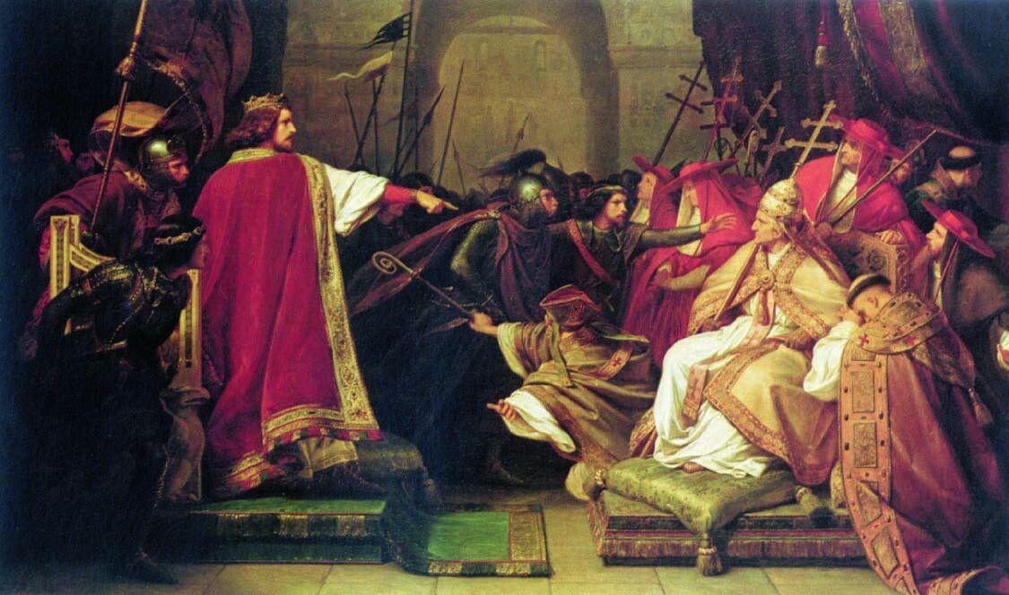 Пленение папы Пасхалия II