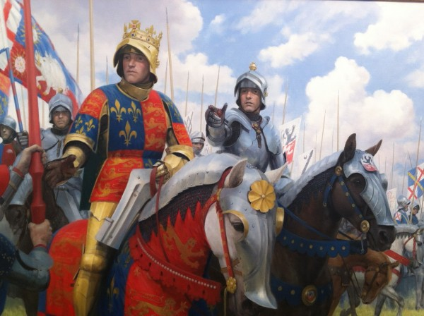 Graham Turner. Richard III at the Battle of Bosworth