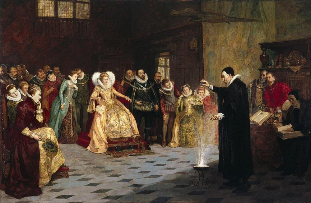 John Dee Performing an Experiment before Elizabeth I