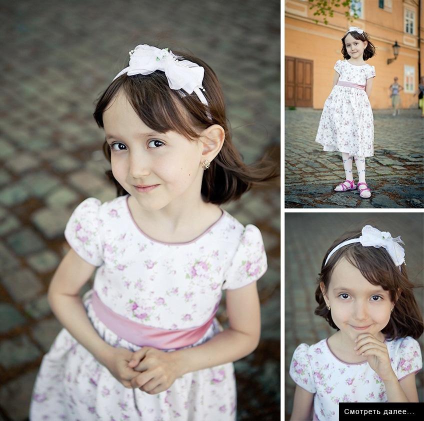 Маленькая принцесса на свадьбе в Праге