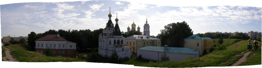 Дмитров-панорама-кремля
