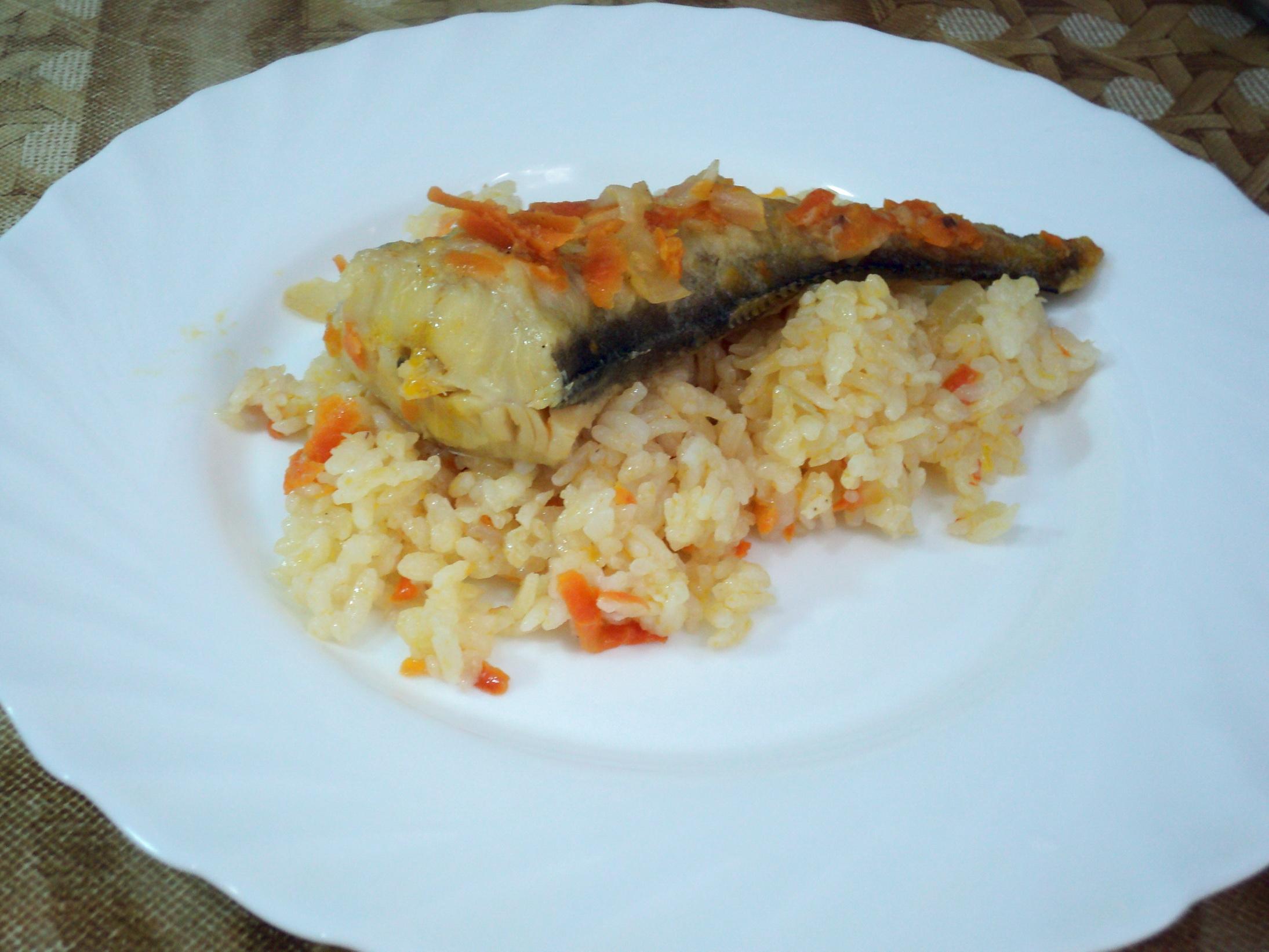 Рыба с рисом для похудения