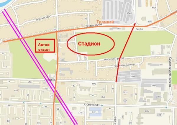Иркутск стадион