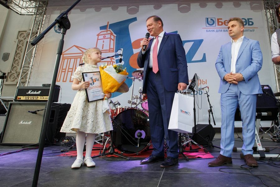 В нынешнем году мероприятие открывала 7-летняя София Курлович из Солигорска