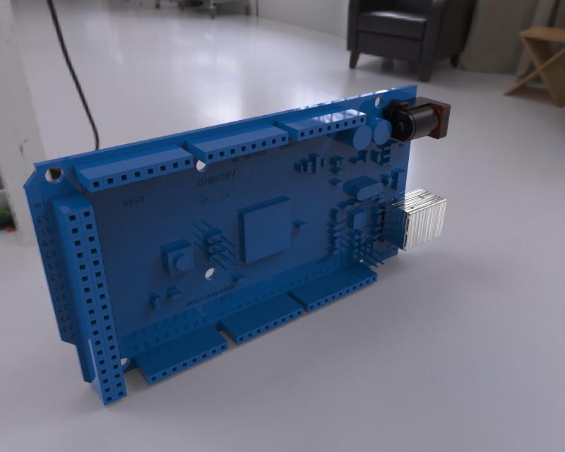 PCB-3D Более 4500 высоко реалистичных моделей радиоэлементов и электрокомпонентов.