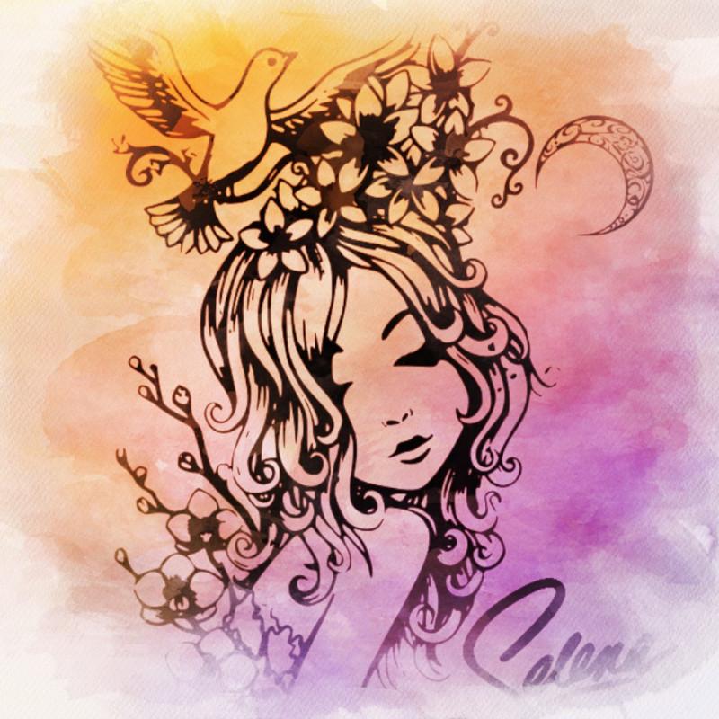 Селена — горный цветок с Луны, который хочется оберегать и которым невозможно не восхищаться.