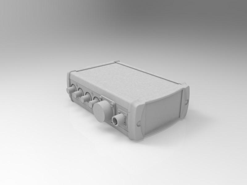 X3D (файлы .x3d) модель блока распределения сигналов